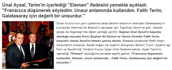 eleman element